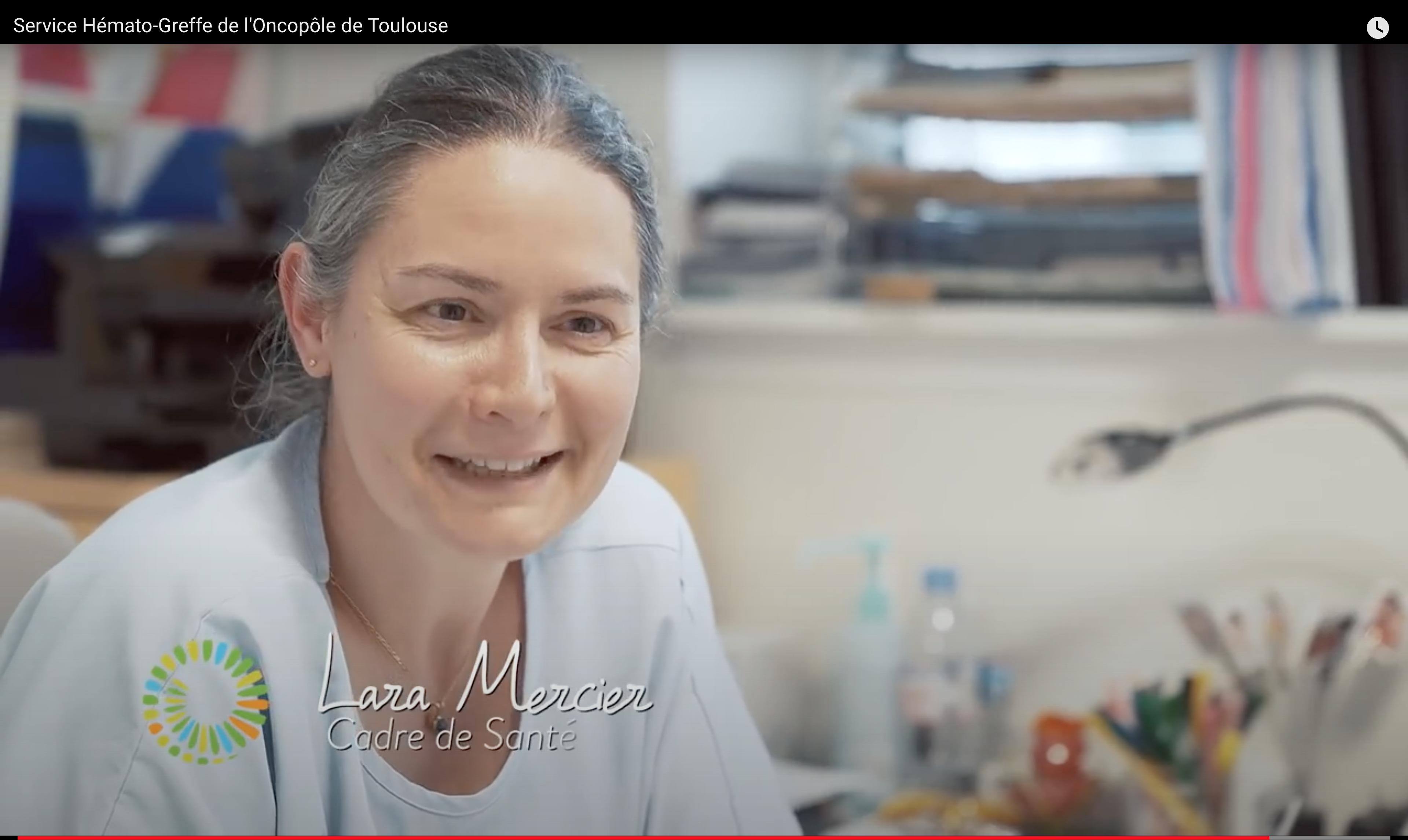 Lara Mercier cadre de santé