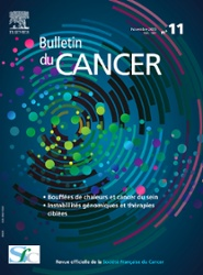 Bulletin du Cancer - couverture
