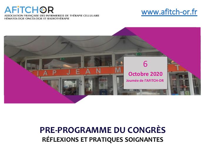 Pré-programme AFITCH-OR 6oct2020