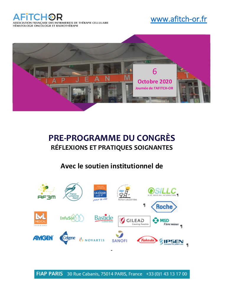 Pré-programme AFITCH-OR 6oct2020