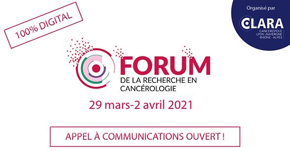 20210329 Forum Recherche Cancérologie