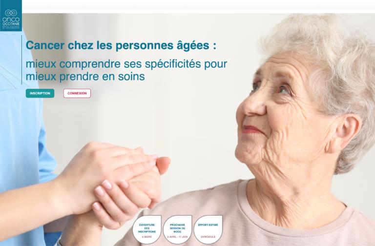 MOOC Cancer personnes âgées
