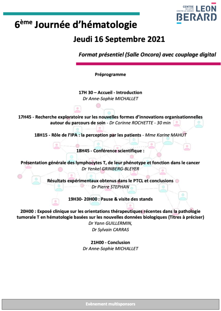 20210916 Pré-programme 6ème Journée Hémato CLB