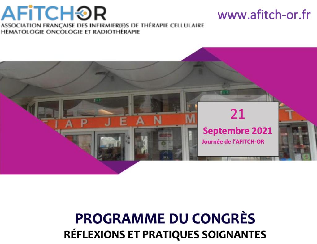 Congrès AFITCH-OR 21sept21