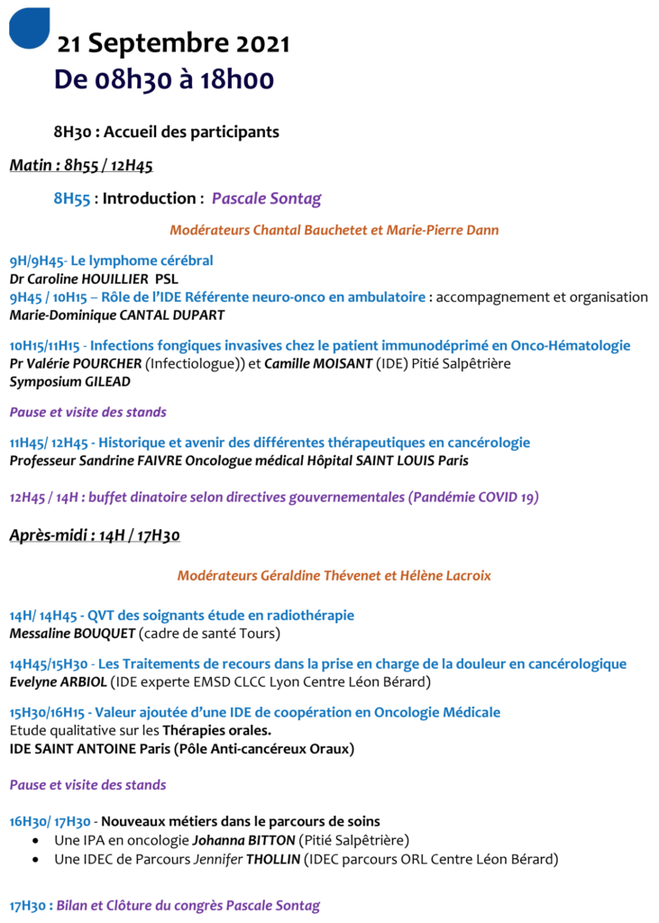 Programme Journée AFITCH-OR 2021