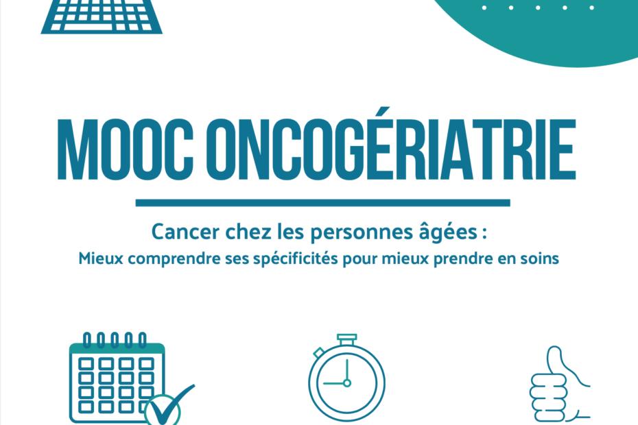 MOOC Oncogériatrie 4ème session