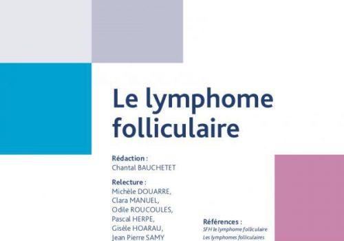 Livret lymphome folliculaire